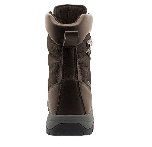lining Brown outsole lock Snow KEFAS thinsulate WARM K 3220 Boot Ice Man Winter w7XqXY8