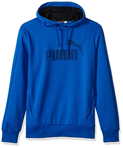 Puma Mens P48 Core Hoodie Fleece Blau/Blau