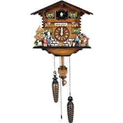 Alexander Taron Importer 422-3QM Black Forest Cuckoo Clock