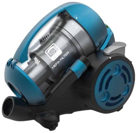Black & Decker VM2825 2000-Watt Bagless Cyclonic Vacuum Cleaner (Blue)