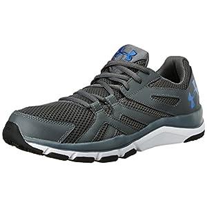 Under Armour Men's UA Strive 6 Rhino Gray/White/Ultra Blue Athletic Shoe