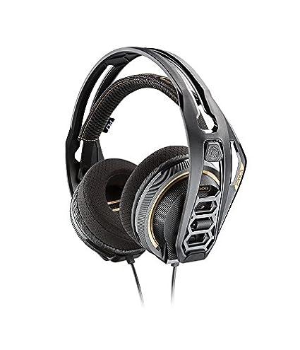 Plantronics Rig 400 - Auricular para PC, Color Negro: Plantronics: Amazon.es: Electrónica