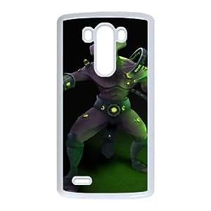 LG G3 White phone case Faceless Void Dota 2 DOT7101137
