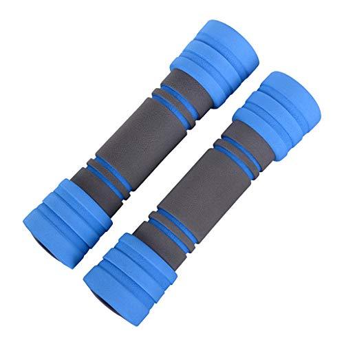 BECF Hanteln, Griffe 1Pair Barbellgewichte Training Dumbbells Set Foam Ergonomische Prevent Walz- Und Verletzungen Für…