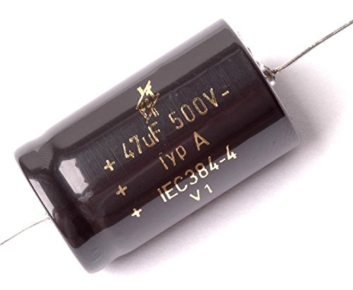 F&T Type A Axial Polarized Electrolytic Capacitor, 47uf 500V