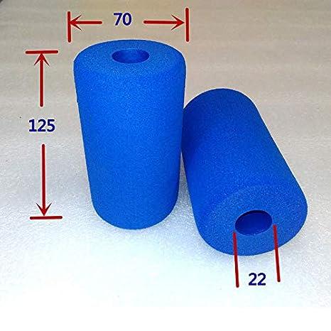 HCJWJ 2x tubo di fitness Equipment, manopole spugna di schiuma tubo a varie specifiche