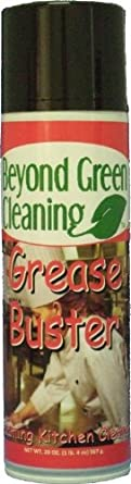 Clift Industries 9100-020 Beyond Green Cleaning Grease Buster Foaming Kitchen Cleaner, 20-Ounce Aerosol Can (Pack of 12)