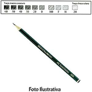 Lápis Grafite Graduado Castell 9000 Faber-Castell 4B