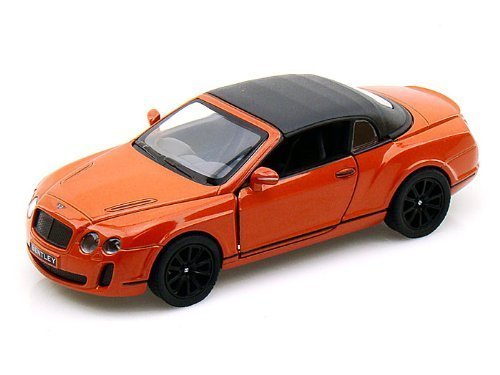 2010 Bentley Continental Supersports Convertible 1/38 Orange w/ Top up