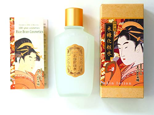 100 year komenuka bijin Rice Bran Extra Moisture Lotion 100ml (ukiyoe package)