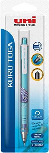 Lapiseira Kuru Toga M7-450T 0,7mm, Azul, Blister com 1 unidade