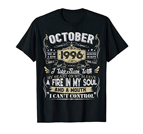 Classic 23rd birthday gift 23 years old Vintage October 1996 T-Shirt