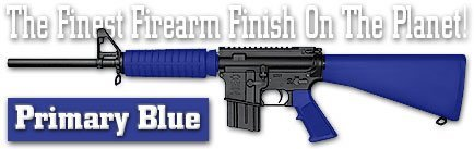 DuraCoat Firearm Finish - 4 oz Bottle with Hardener (131 - Primary Blue)