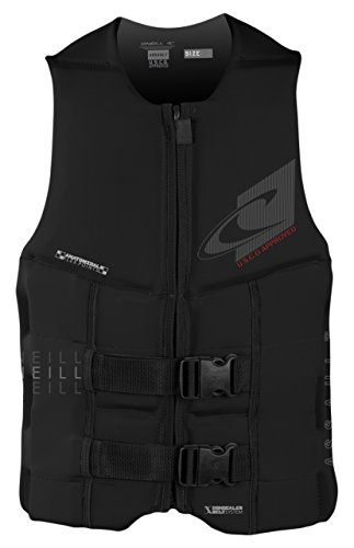 Uscg Life Jackets - O'Neill Wetsuits Men's Assault USCG Life Vest, Black