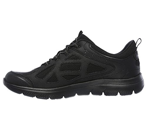 Summits Skechers Women's Black Sneaker All 1a65zwTq