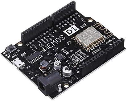 BouBou 5 pezzi D1 R2 V2.1.0 Wifi Uno basato su modulo Esp8266 Modulo Geekcreit per Arduino - Prodotti compatibili con schede Arduino ufficiali