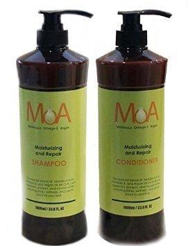 MOA (Shampoo & Conditioner) Melaleuca Omeca-3 Argan Moisturizing and - In Stores Moa