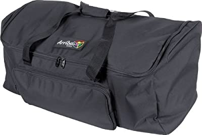 "Arriba Case AC142 Padded Gear Transport Bag 25"" x 14"" x 14"" by American DJ Group of Companies"