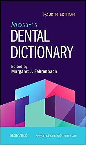 Mosby's Dental Dictionary, 4th Edition - Original PDF