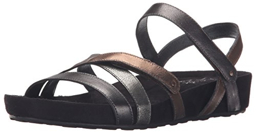 Walking Women's Pool Cradles Metallic Sandal Flat gBgFw
