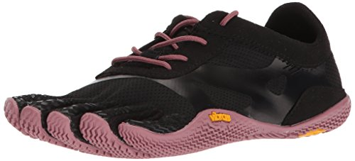 Vibram Women's KSO EVO Black/Rose Cross Trainer, 38 EU/7.5-8 M US