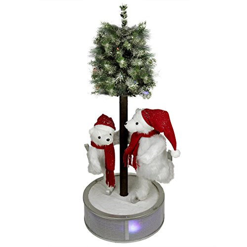 Led Lighted Polar Bear - 9