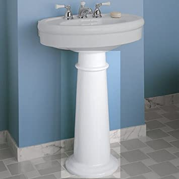 American Standard 0067.000.020 Standard Collection Pedestal Sink Leg, White