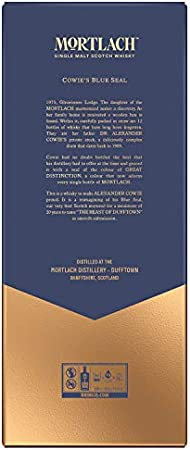 Mortlach 20 Años Whisky Escocés Puro de Malta de Dufftown - 700 ml