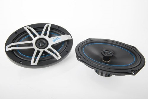 West Coast Customs WCC690 Silk Dome Tweeter for Smooth High Frequency, 1-Inch