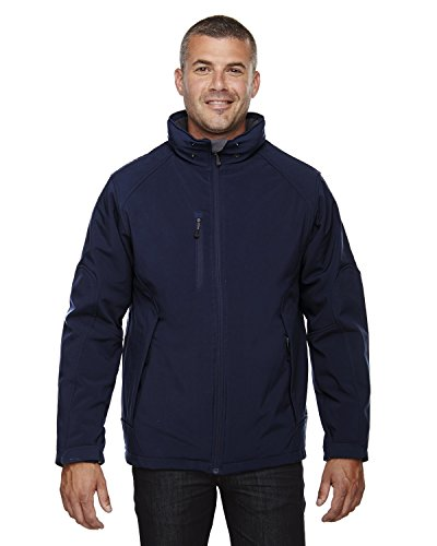 (Ash City - North End Mens Glacier Insulated Soft Shell 88159 -CLASSIC NAVY 3XL)