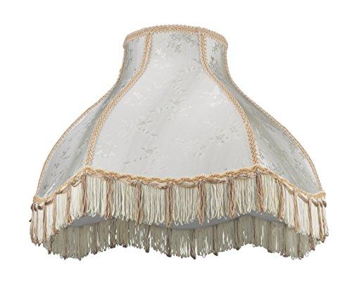 Aspen Creative Scallop Bell Shape Lamp Shade