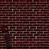 Create-A-Scene Red Brick Wall Cover - 42' x 50' Holiday Decoration
