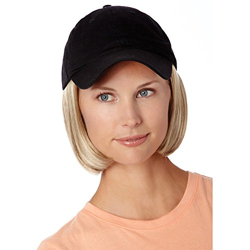 Henry Margu (Shorty Hat Black) - Synthetic Baseball Cap Wig in 12H