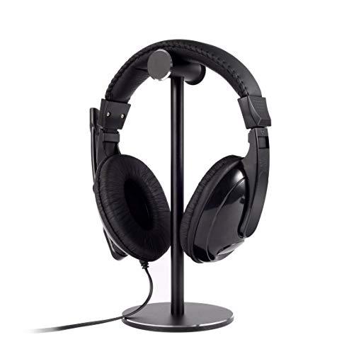 Aluminum Non-Slip Headphone Stand,Headset Hanger ,Headphone Holder,Earphones for Desktop Organization Display