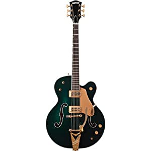 Gretsch G6196T Country Club Electric Guitar with Bigsby - Cadillac Green