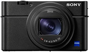 Sony RX100 VI 20 1 MP Premium Compact Digital Camera w/ 1-inch sensor,  24-200mm ZEISS zoom lens and pop-up OLED EVF (DSCRX100M6/B)