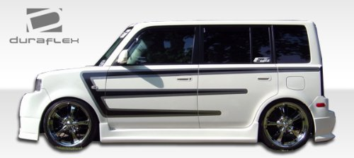 - Duraflex ED-MDP-203 Skyline Side Skirts Rocker Panels - 2 Piece Body Kit - Compatible For Scion xB 2004-2007