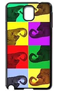 Elephant art Hard Durable Back Case Protective For Your Samsung Galaxy Note3 N9000 Skin by lolosakes