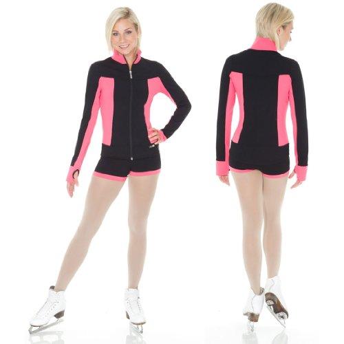 Mondor 4807 Supplex Zippered Practice Figure Skating Jacket