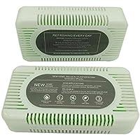 SMKF Refrigerator Odor Eliminator,5pack Natural Activated Charcoal&Diatom Fridge Odor Eliminator for Home, Closets, Bathrooms and Pet Areas, Car