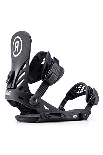 Ride LTD 2019 Snowboard Binding - Men's Black Medium (Ltd Bindings)