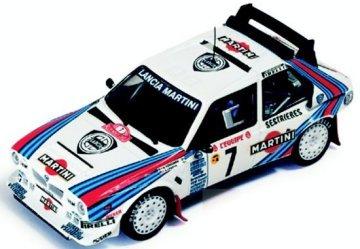 1/43 Lancia Delta S4 Winner Monte Carlo 1986 MARTINI #7(ホワイト×レッド×ブルー) RAC031