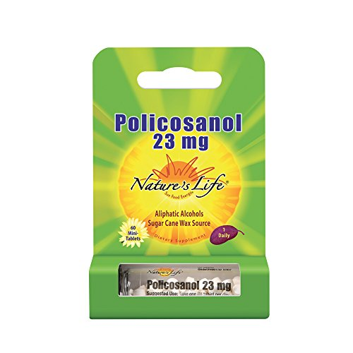 Nature's Life® Policosanol 23mg | Support for Cardiovascular Health, Blood Circulation & Healthy Heart Function | 60 -