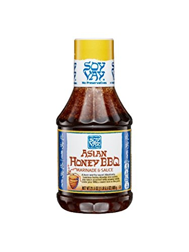 Soy Vay Sauce Asian Honey BBQ, 21.5 oz