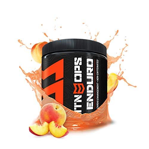 MTN OPS Enduro Cardio Energy Enhancement Supplement, Nitric Oxide Boost (No Crash), Peach Flavor, 30 Servings Per Container