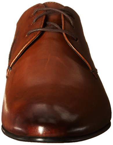 Ted Baker Men's Pelton Lthr Am Tan Tuxedo Oxford, Tan, 9.5 M US