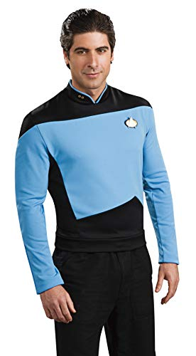 90s Movie Halloween Costume Ideas (Rubie's Star Trek The Next Generation Deluxe Science Officer Adult Costume Shirt,)