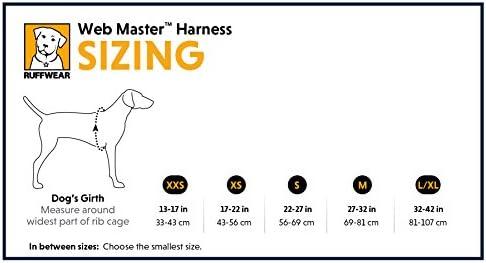 Amazon.com: Ruffwear Webmaster Rojo Arnés del perro ♢ Secure reflectante Multi Purpose ♢ todos los tamaños, XS, Rojo: Mascotas