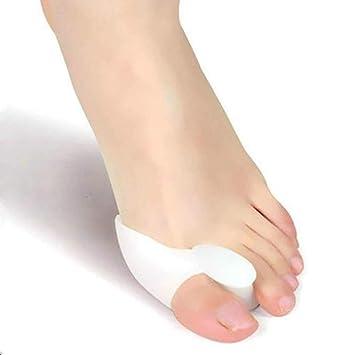 F-blue El Alivio del Dolor del pie Separador del Dedo del pie del juanete