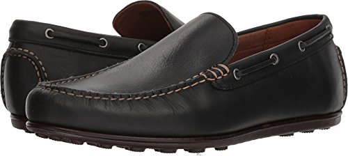 FRYE Men's Venetian Driving Moc Black Leather 10 D -
